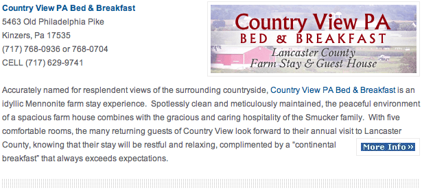 Country View Bed Breakfast Farm Stay Guest House