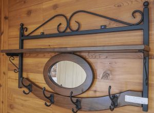 Wrought Iron Metal Craft Lancaster County PA Dutch Country Shepherd Hooks Candelabras