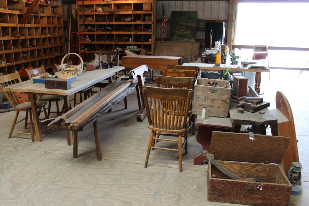 Antiques Loft at Sylvan Brandt Lititz Lancaster County PA Reallancastercounty Locally Owned Family Operated Vintage and Architectural Salvage old doors windows hinges natural distressed antique flooring original architectural flooring reclaimed boards