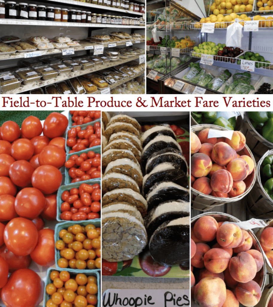 Horst Farm Market East Earl PA Lancaster County local Field-to-Table Produce Market Fare Varieties Field to table homegrown produce