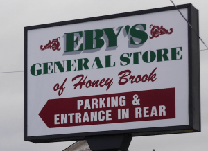 Eby's General Store Honey Brook