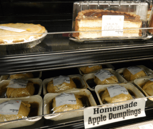 Hilltop acres farm market baked goods