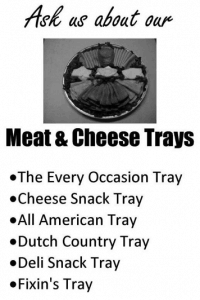 Meat & Cheese Trays