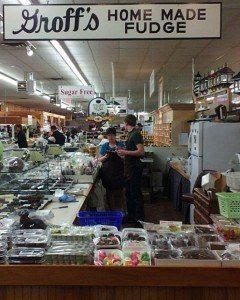 Groff's Candies Market Stand