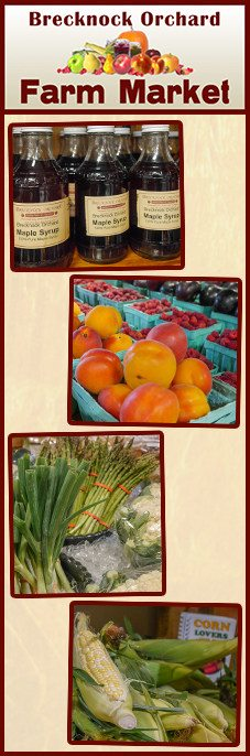 Brecknock Orchard Farm Market Mohnton Lancaster County PA
