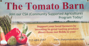 The Tomato Barn The Goody Barn Farm to Table Produce Locally Owned Family Operated Washington Boro Lancaster County PA Famous Tomatoes CSA Community Supported Agriculture