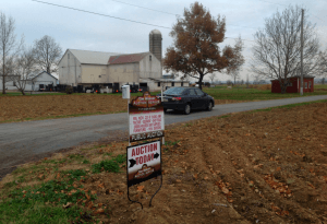 Tim Weaver Auction Service Lancaster County PA Locally Owned Family Operated family estates real estate farm dispersal liquidations events