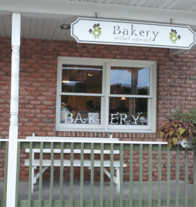 bakery at the cupboard entrance