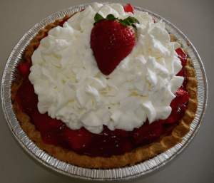 White Horse Luncheonette Diner strawberry pie