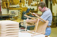 George's Furniture Woodworking Shop & Tour Marietta Lancaster County PA