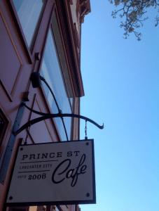 Prince Street cafe story