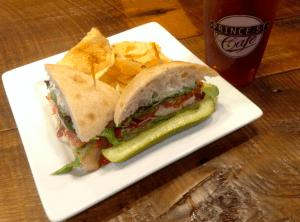 Prince Street Cafe sandwich