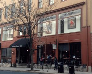 Prince Street Cafe hours