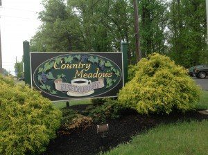 Country Meadows Restaurant Entrance