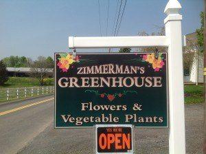 Zimmerman's Greenhouse hours