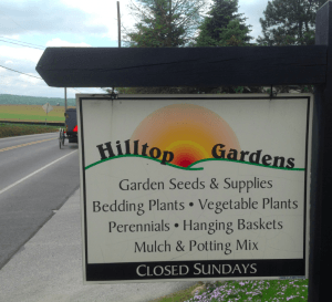 Hilltop Greenhouse Hours