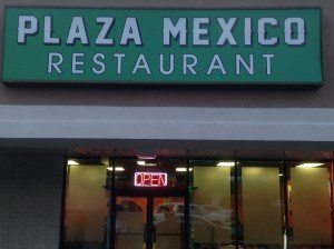 plaza mexico restaurant directions