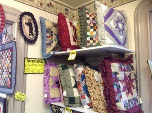Creative Home Shoppe pillows quillows