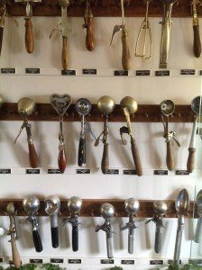 Udder Choice vintage ice cream scoops Lancaster County Reallancastercounty