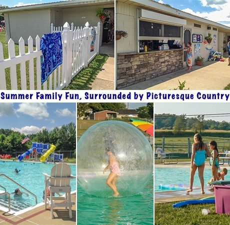 Nickel Mines Pool Paradise Lancaster County PA