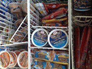 Nickel Mines Pool ice cream