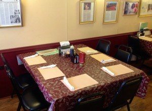 Valentino's Cafe lancaster pa tables