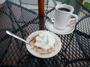 Valentino's Cafe lancaster pa rice pudding