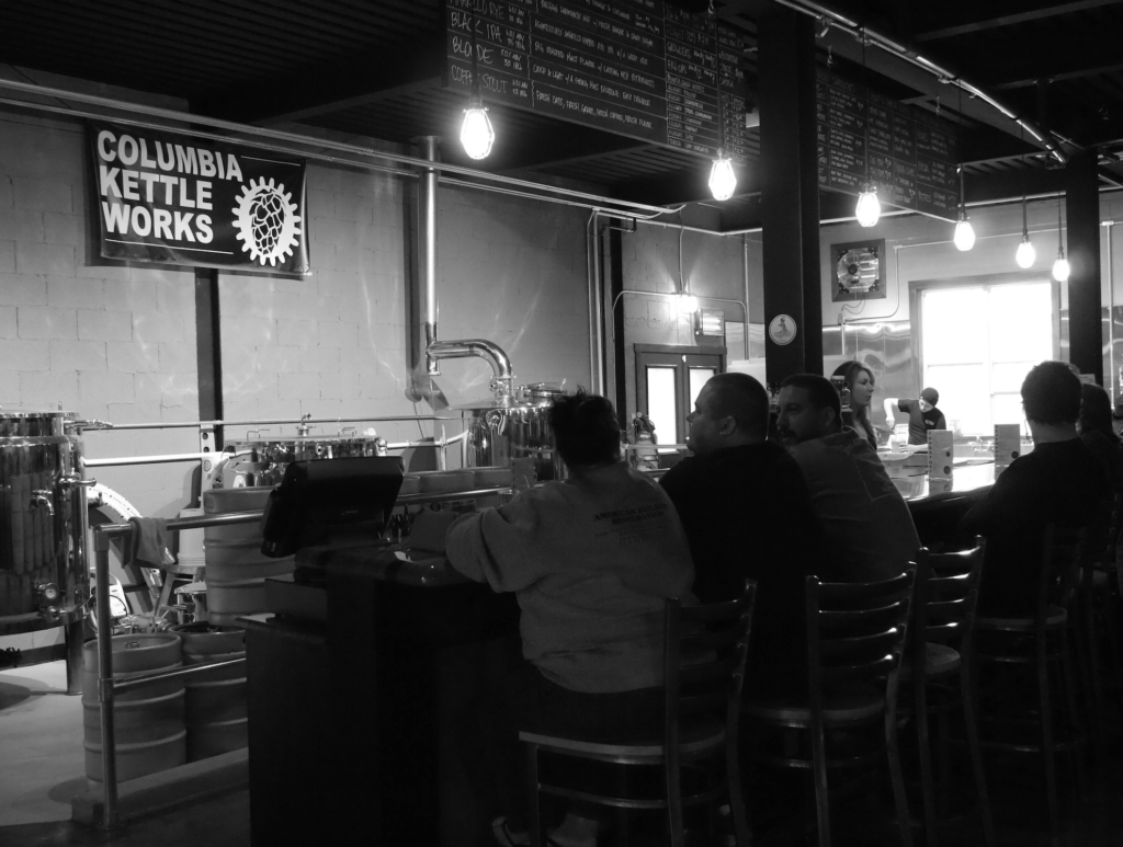 Columbia Kettle Works micro craft brewery