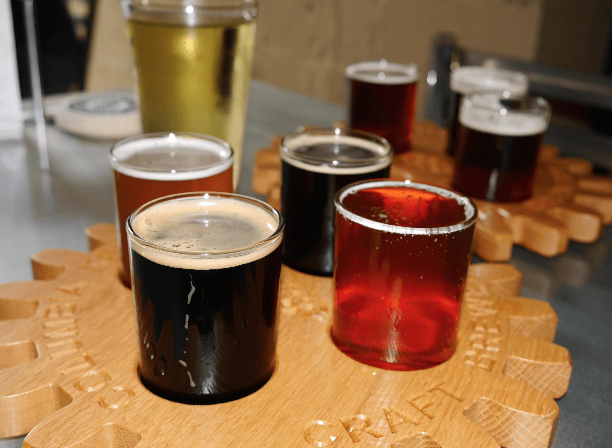 Columbia Kettle Works Microbrewery craft beers