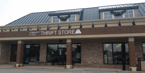 New Hope Community Closet Thrift directions