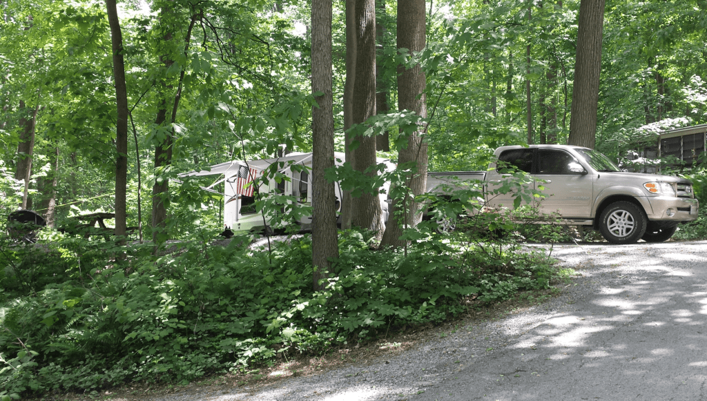 The Loose Caboose Campground Kinzers Pa Lancaster County