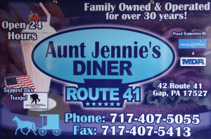 Jennies Diner 41 directions