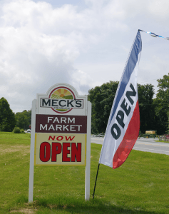 Meck's Roadside Market Strasburg PA Locally Owned Family Operated Lancaster County Pennsylvania Reallancastercounty Field to Table Homegrown Local Fresh