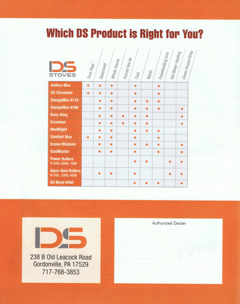 DS Stove Lancaster County PA Heating Services 20