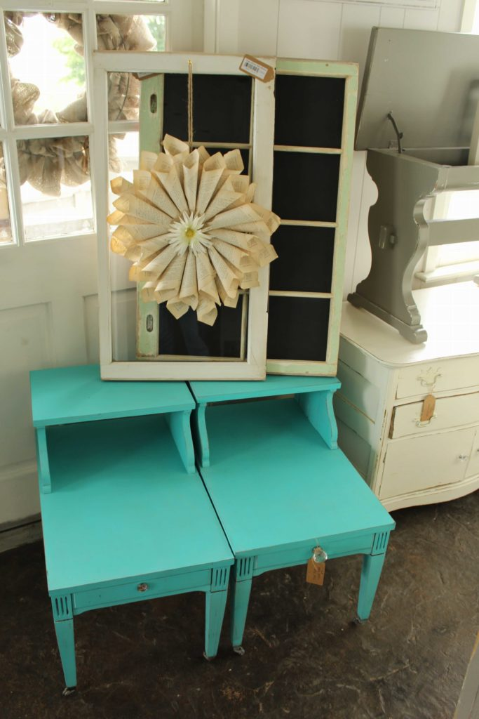 Upcycled Furniture Fresh Floral Unique Design by Sharon Lancaster County
