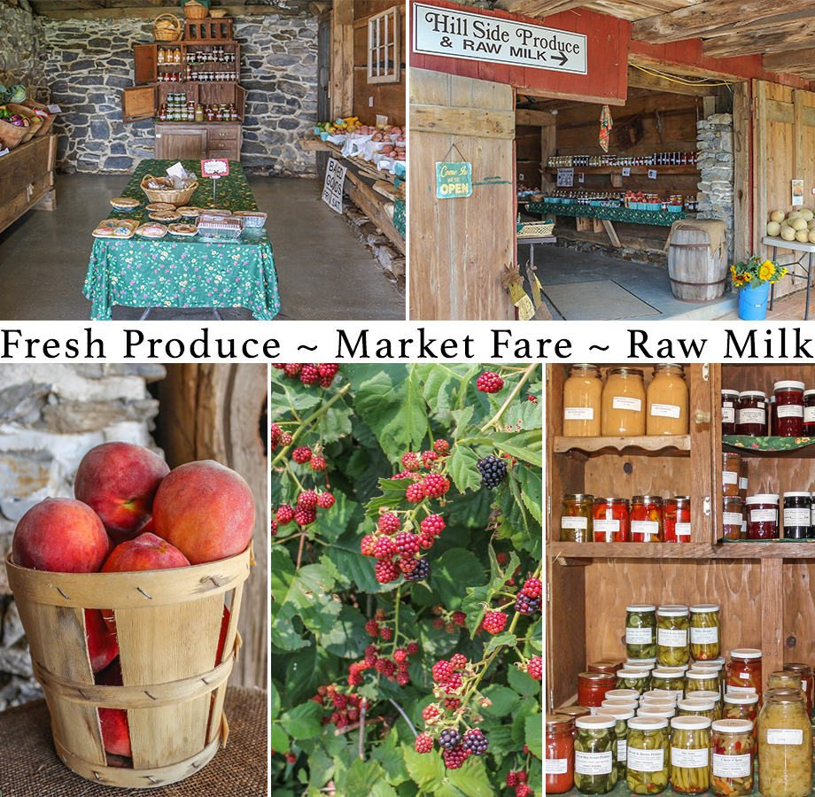 Hill Side Produce Ephrata Lancaster County PA Hillside
