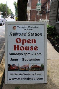 Manheim Historical Society Historical Museum Events Membership Fasig House Keath House Railroad Station & Trolley Historical Landmarks Local History