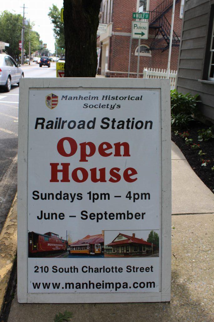 Manheim Historical Society Historical Museum Events Membership Fasig House Keath House Railroad Station & Trolley Historical Landmarks Local History