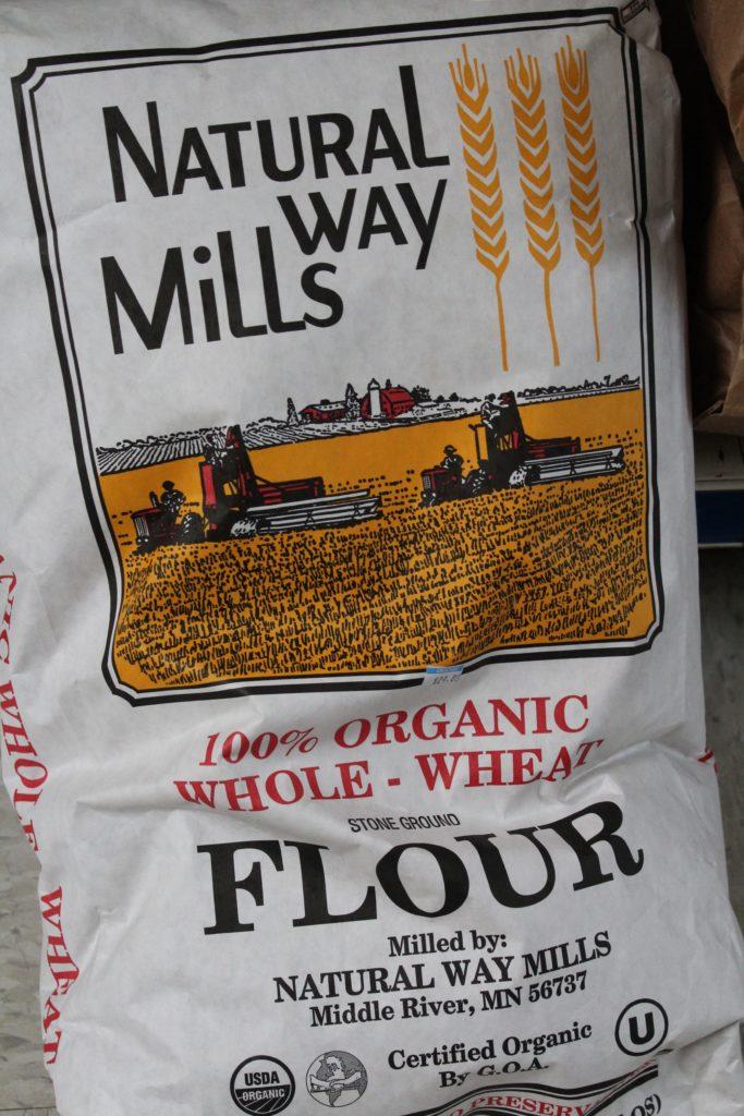 Hillside Bulk Foods Natural Way Mills Organic Flour