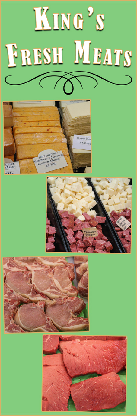 King's Fresh Meats Green Dragon Farm Market Ephrata Lancaster