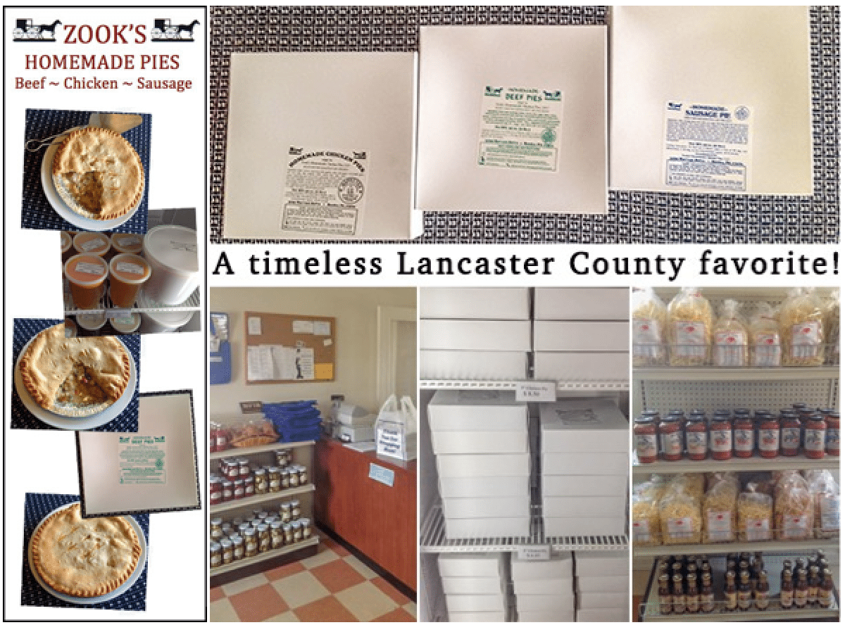 Zook's Homemade Chicken Pies…Discover Lancaster County Local PA Dutch Eats!