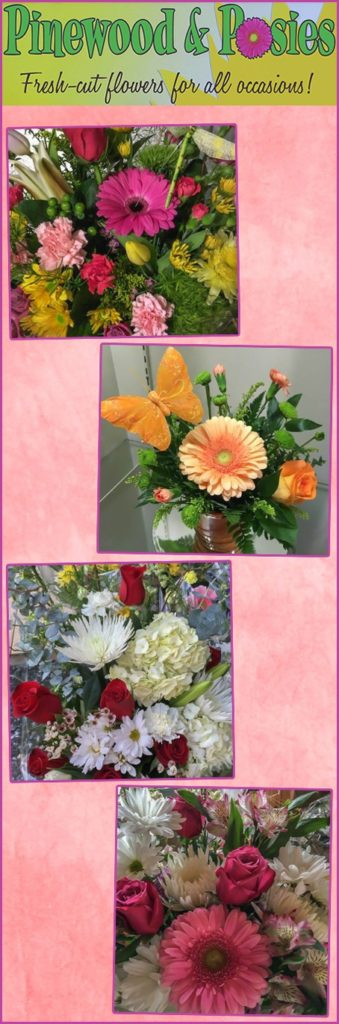 Pinewood & Posies Locally Owned Family Operated Southern Lancaster County fresh-cut flowers fresh beautiful floral arrangements weddings funerals year-round