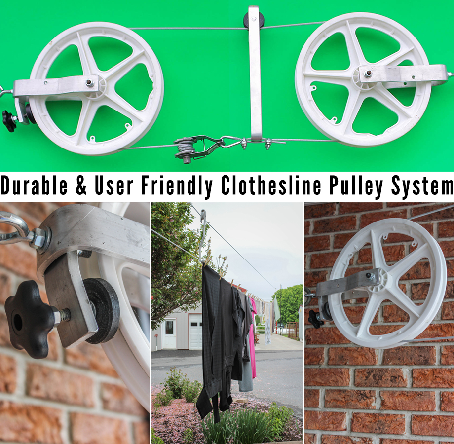 Ease Roll Clothesline Pulley System | RealLancasterCounty comReal