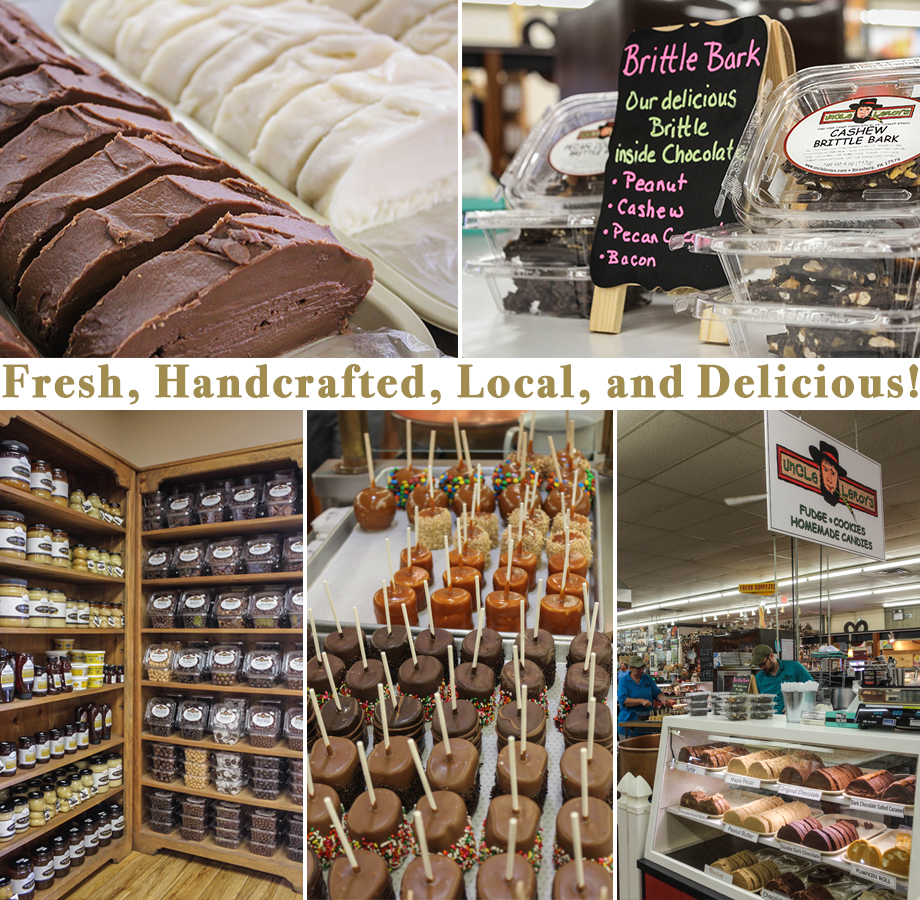 Uncle Leroy S Ice Cream Fudge Candy Real Lancaster Countyreal Lancaster County