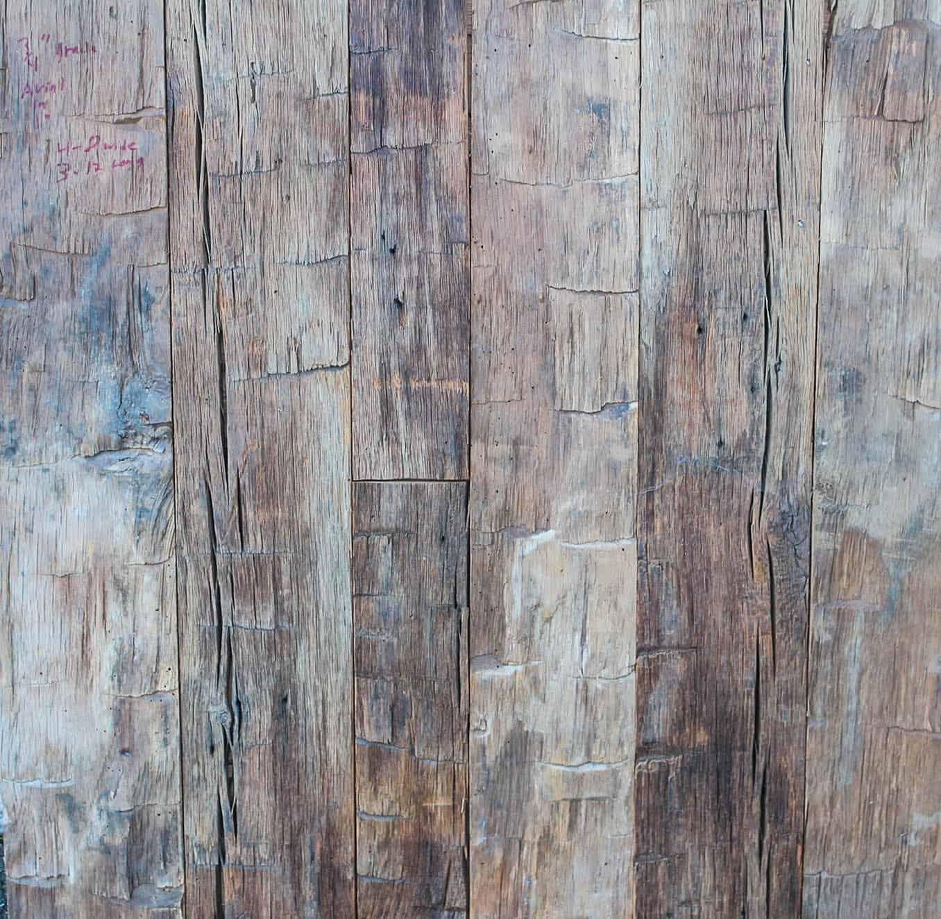 Oak Wall Panel