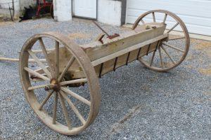 #521 Fertilizer Spreader wheels are in good condition $400.00