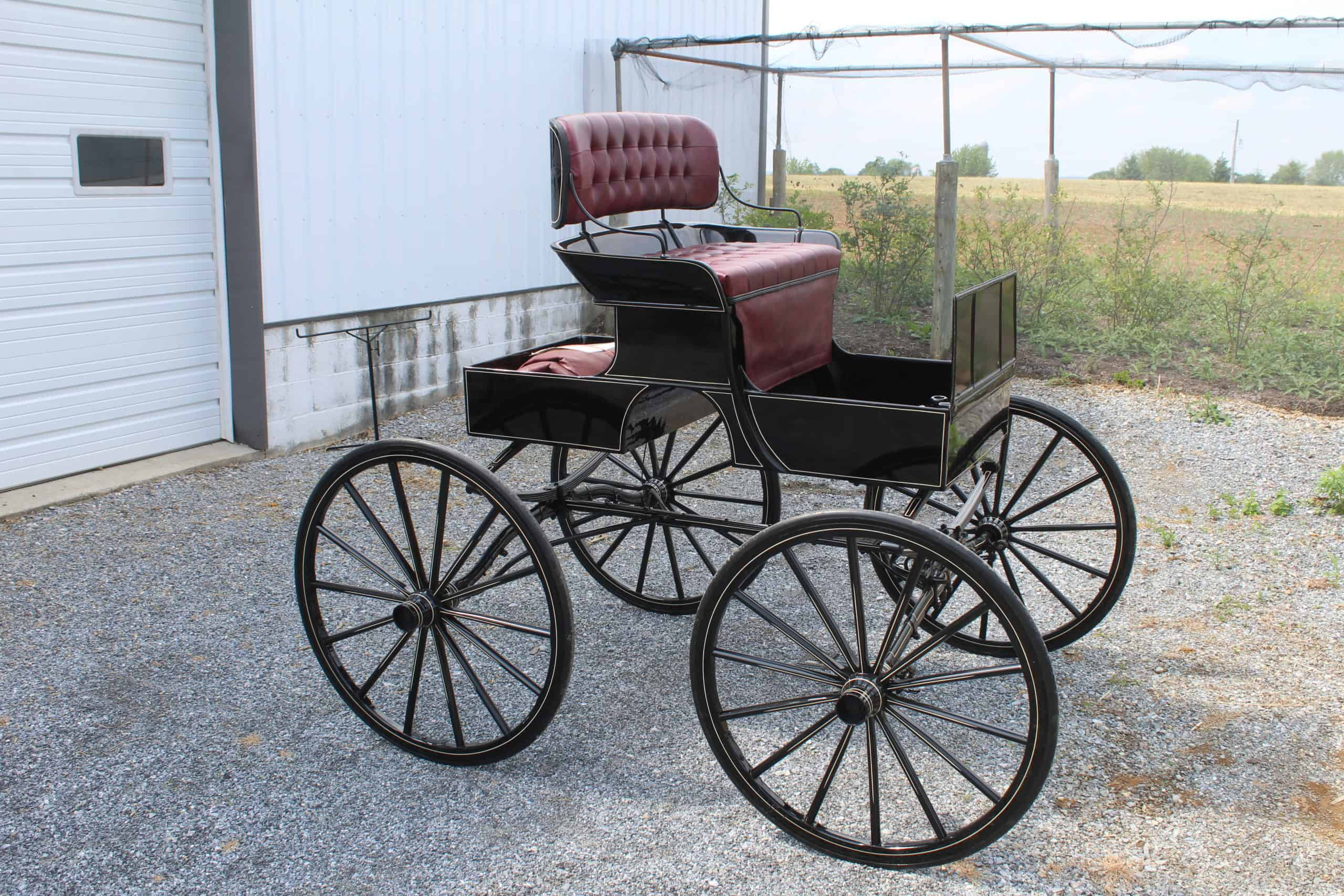 A&A Carriage, Wheel, and Harness Family Owned & Operated, Carriages, Wheels, Harness &Tack, New Holland, PA, Easy Enter Road Cart, Pioneer Buckboard Wagon, Pony Wagons, Hay Ride Wagon